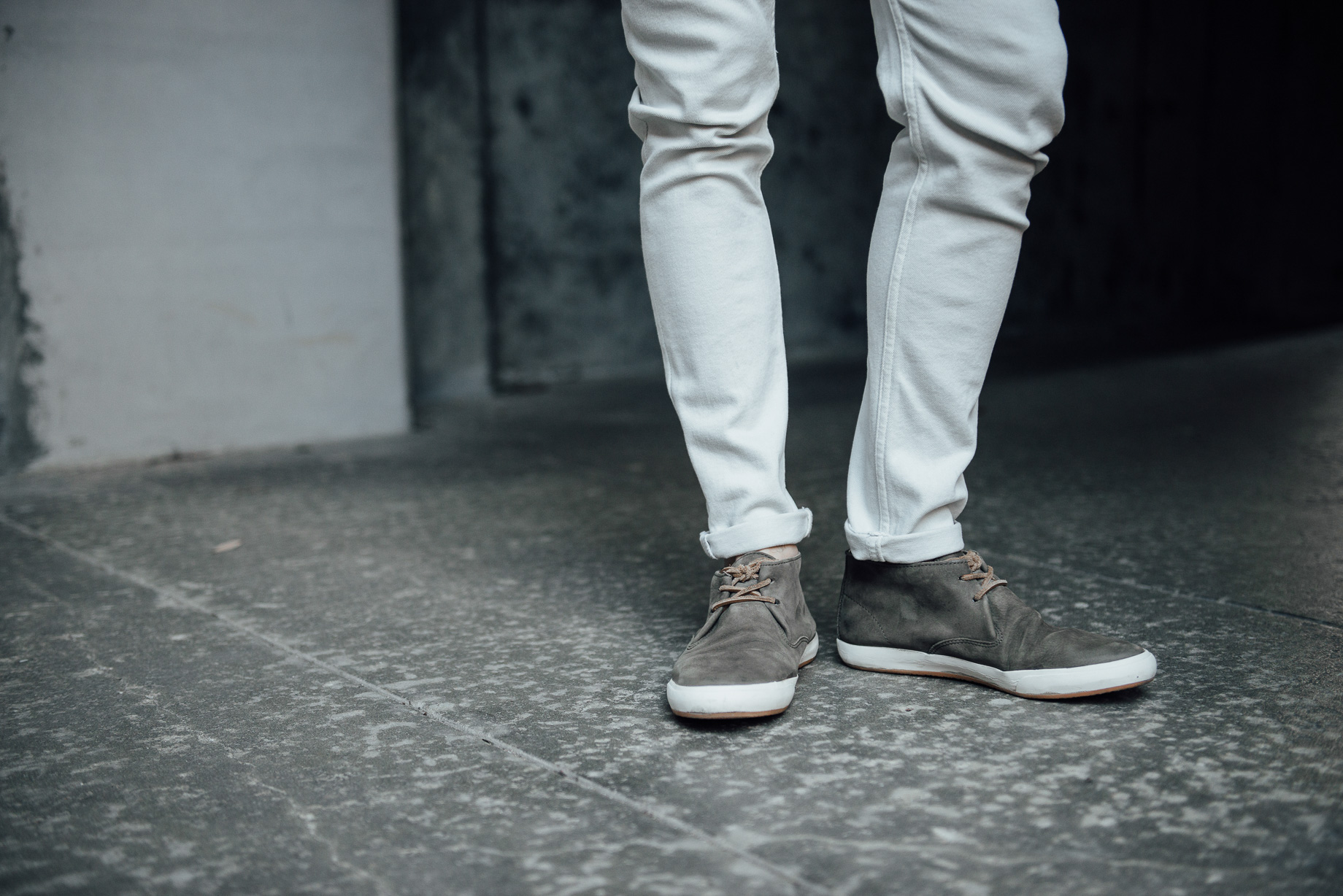 Frye Chukka shoes Jason Lopresti