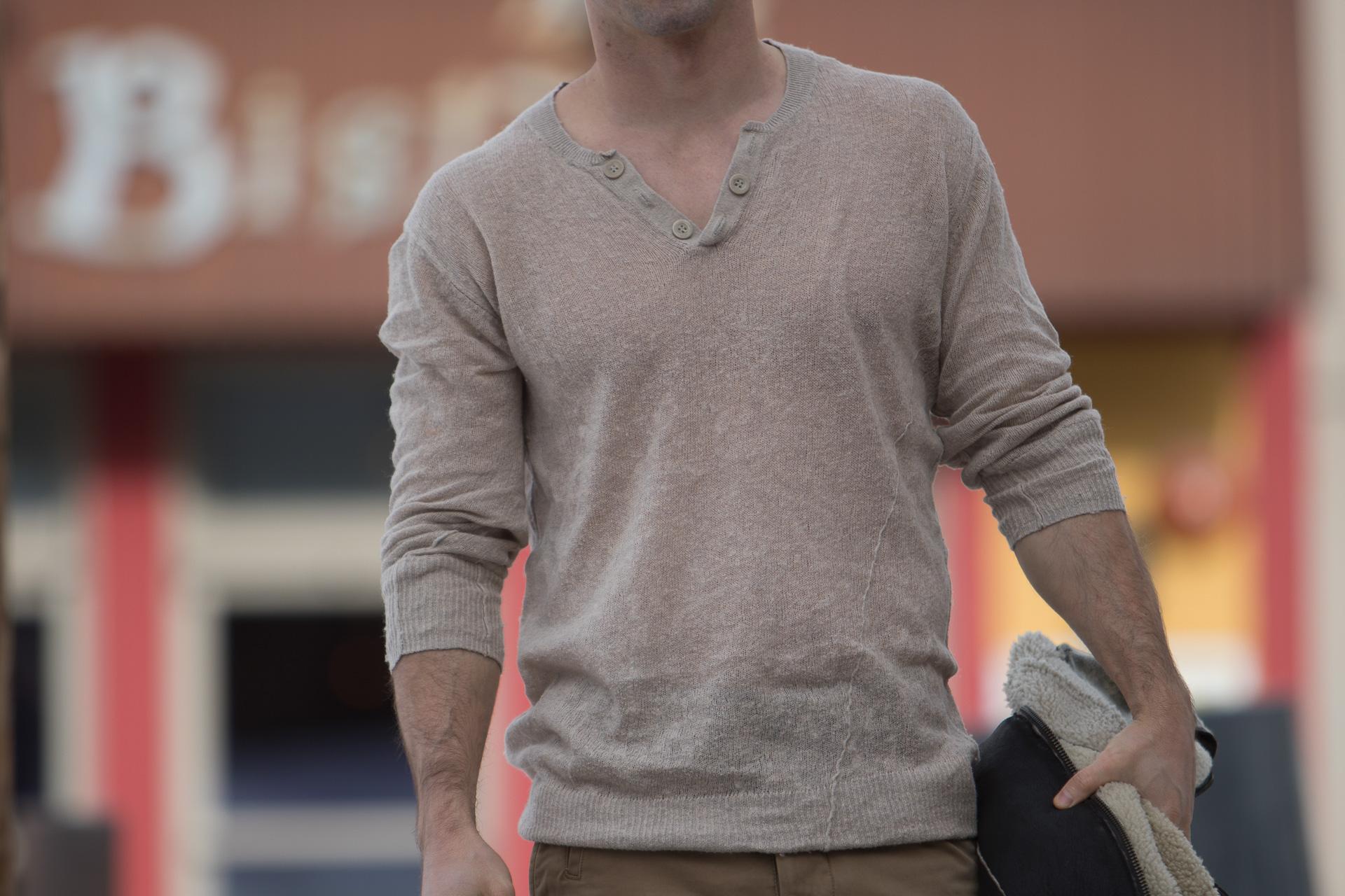 short guys linen shirt