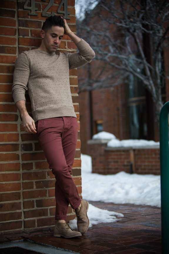 All Saints chinos sweater