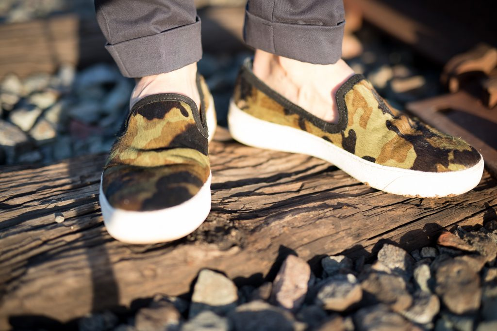 Sam Edelman camo hair shoes