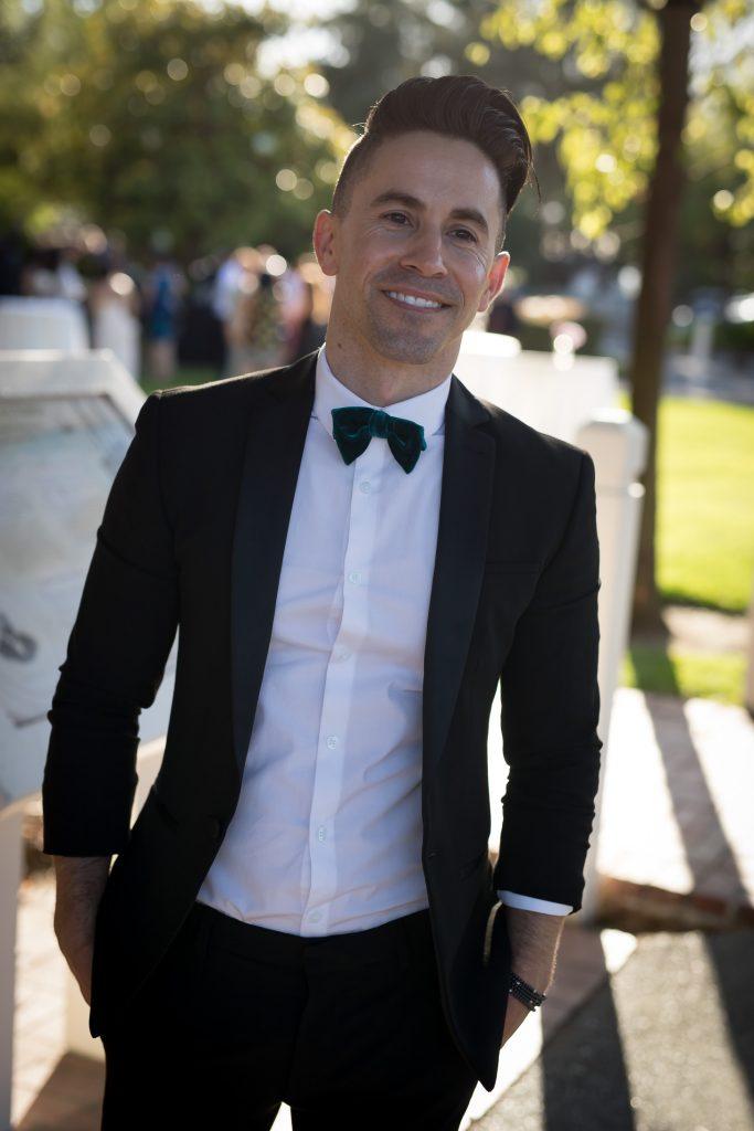 ASOS black tuxedo Jason LoPresti