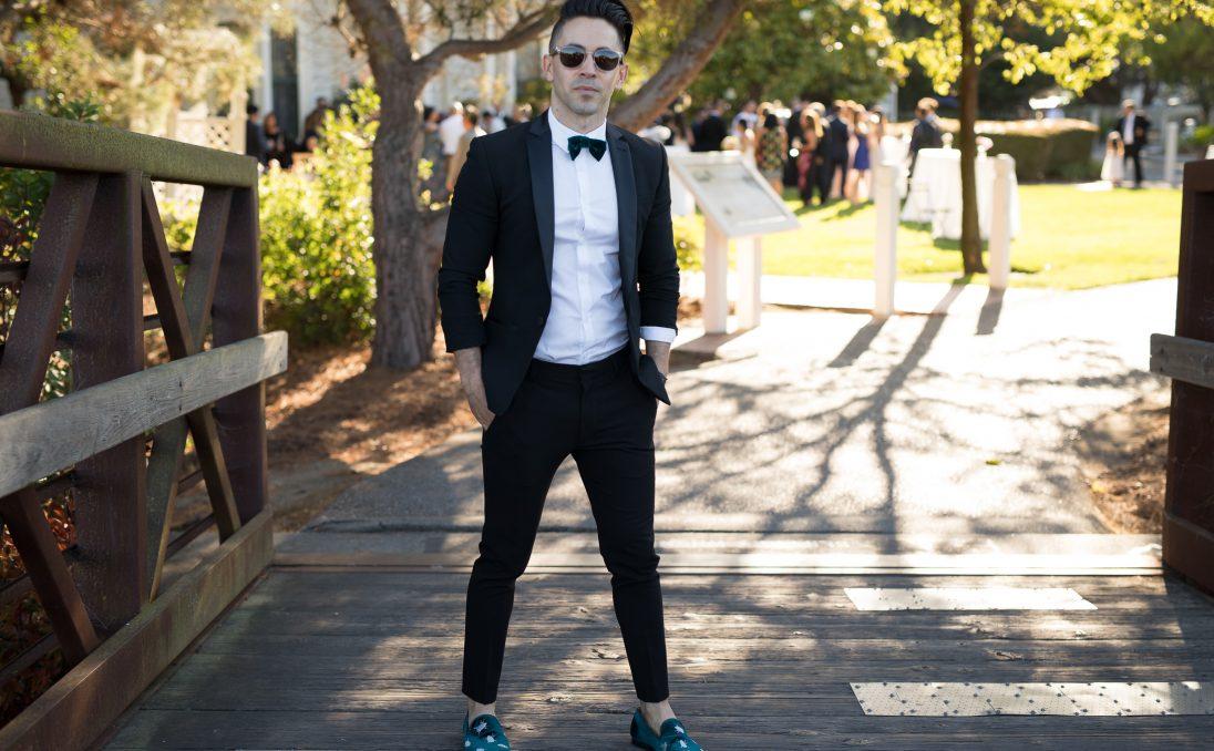 Black tuxedo for Jason LoPresti